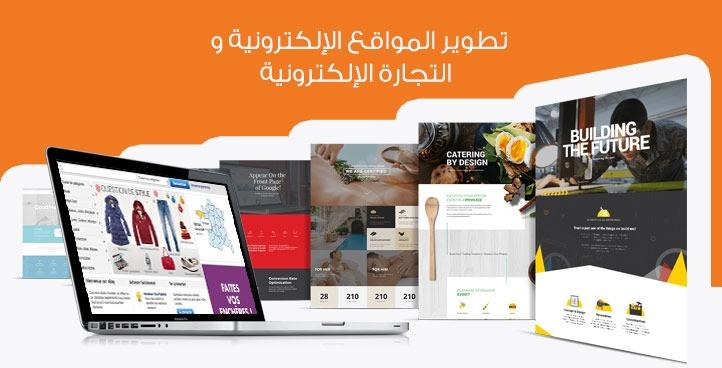 تطوير المواقع الإلكترونية و التجارة الإلكترونية
