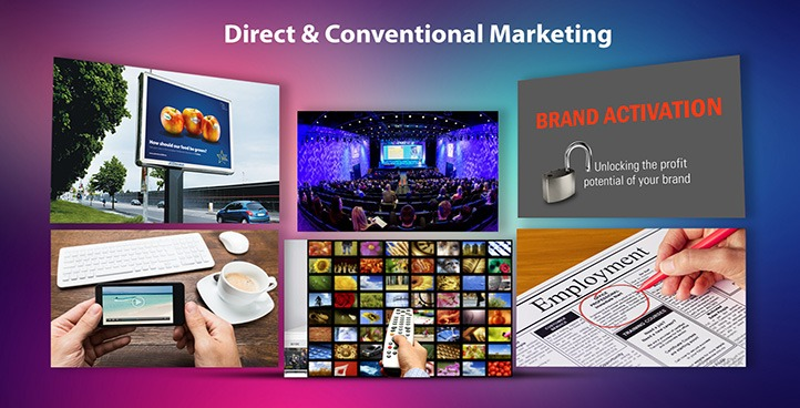 DIRECT & CONVENTIONAL MARKETING